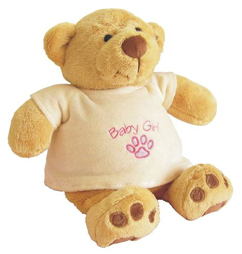 personalised teddy bear by lamby embroidery