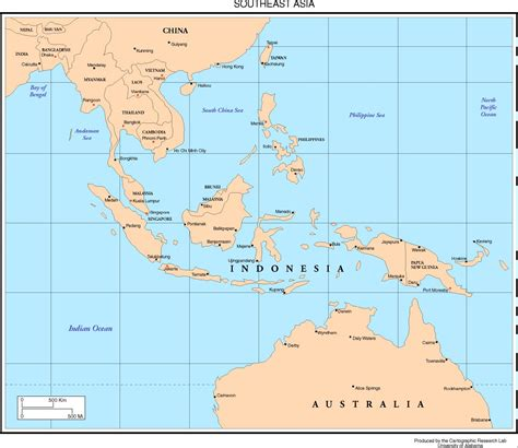 Maps Of Asia Page 2 University Of Alabama | top 10 tourist cities in southeast asia lifehacked1st com