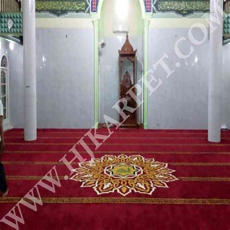 Karpet Masjid Di Medan pemasangan karpet masjid isti adah medan sumatra utara