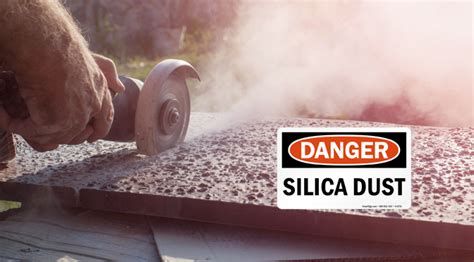 The Latest On Osha S Silica Rule And The Dangers Of The Dust 171 Elearning At Work Silica Written Exposure Plan Template