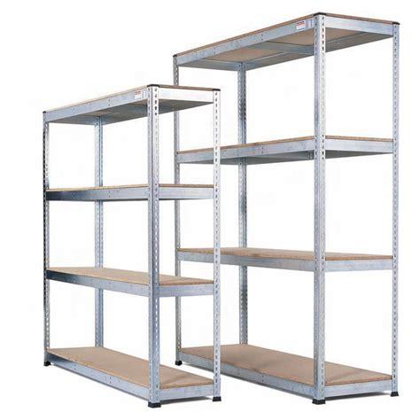 heavy duty warehouse shelving galvanised heavy duty warehouse shelving with chipboard