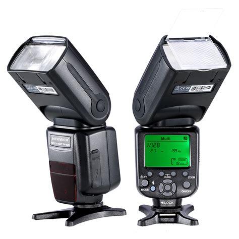 high speed canon nw982ii etll high speed sync lcd display speedlite flash
