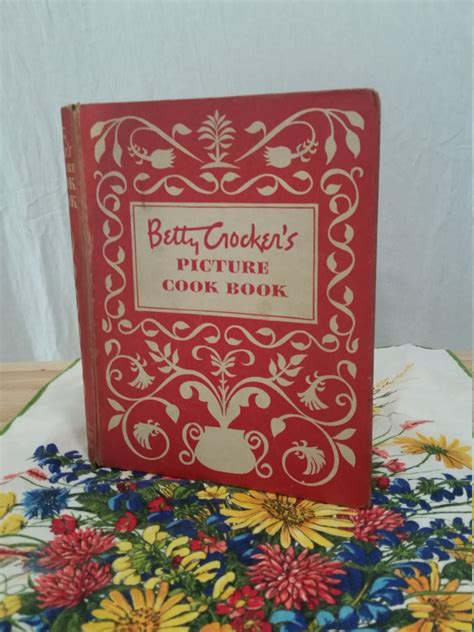 betty crocker 1950 picture cookbook bettys attic vintage betty crocker picture cookbook original 1950 first