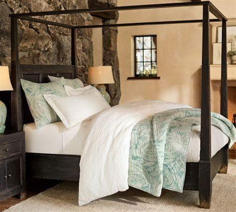 Pottery Barn Canopy Bed Dawson Canopy Bed Pottery Barn