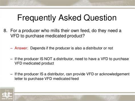 Vfd Acknowledgement Letter Dr Sam Holst Changes On Antibiotic Usage Preparing For Changes T