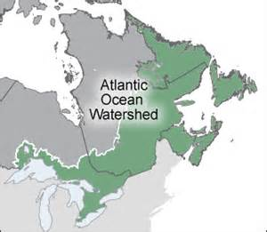 Atlantic Canada Map Outline by Environment And Climate Change Canada Water Atlantic Watershed