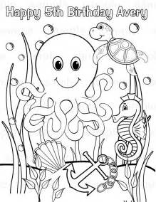 ocean animals coloring pages kids ocean 10806 bestofcoloring