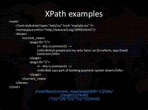 css xpath tutorial 3 3 detection exploitation of xpath xquery injections
