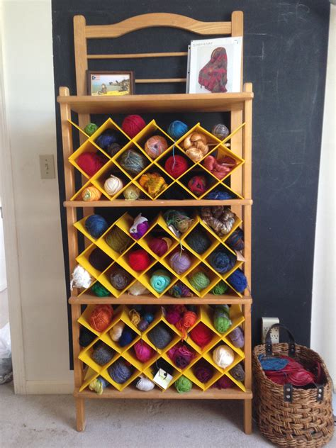 Yarn Shelf by Claypool Knitting Shelves