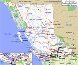 map of canada bc beautiful columbia follow shannon