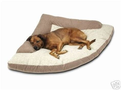 discount dog beds gt gt cheap corner dog bed with bolster xxl 44 x 64 x 44