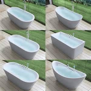 freistehende badewanne an wand die besten 17 ideen zu badewannen auf boden