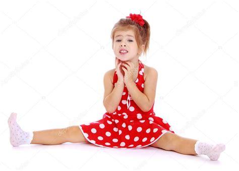little girls legs beautiful little girl sitting legs spread wide stock