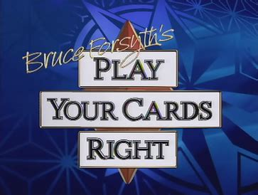 Your Gift Card - play your cards right wikipedia