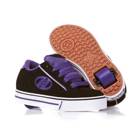 heelys shoes heelys wave shoes black purple free uk delivery on