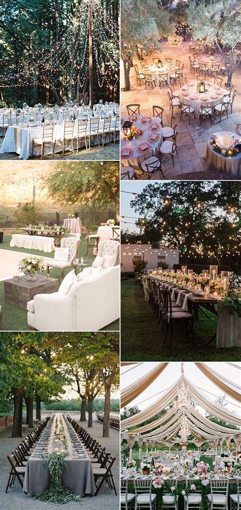 Top 18 Whimsical Outdoor Wedding Reception Ideas Garden Wedding Reception Decoration Ideas