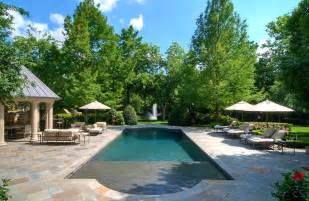 rectangular pool designs pool contemporary with concrete