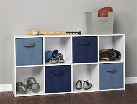 Where Can I Buy Closetmaid Products Closetmaid 420 Cubeicals 8 Cube Organizer White In The
