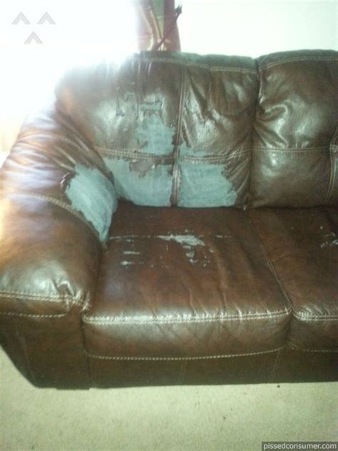 tear in leather couch loveseats couch and leather on pinterest