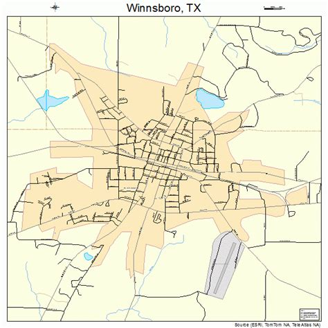 winnsboro texas map winnsboro texas map 4879816