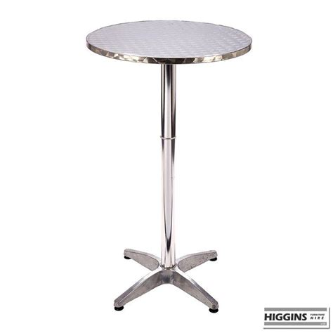 Aluminium Bistro Table Poseur Or Pod Table Aluminium Bistro Higgins Ie