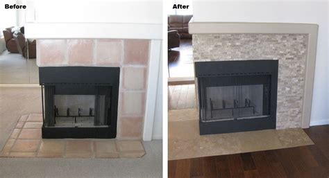Fireplace Remodels Before And After by Home Renovations Bhb