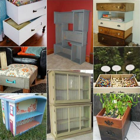 Repurpose Dresser Drawers by 20 Diy Ways To Repurpose Dresser Drawers For Your Home