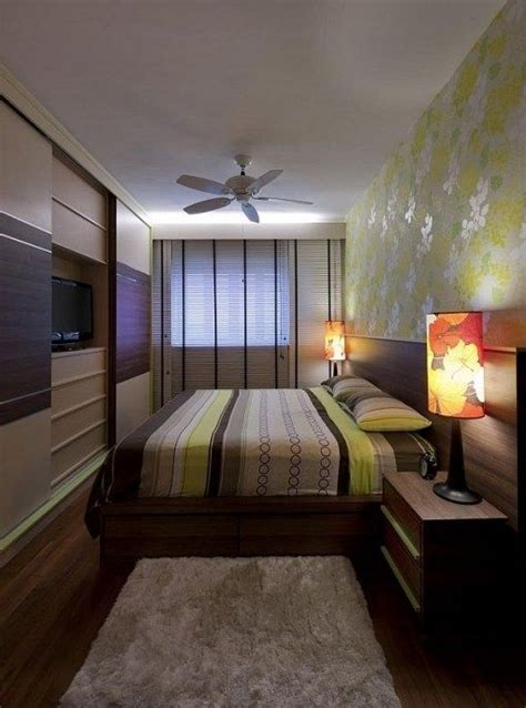 top  interior design  small rectangular bedroom top