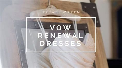 Vow Renewal Wedding Hairstyles by I Do Take Two Dresses For Vow Renewals