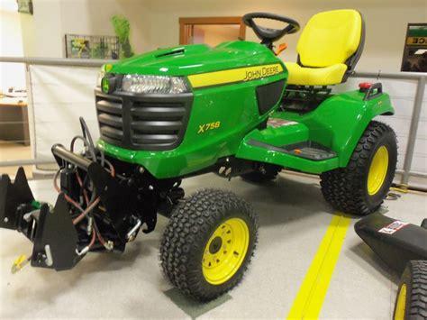 Diesel Garden Tractor by Deere X758 Garden Tractor 24hp 60 Cid Diesel 1 258