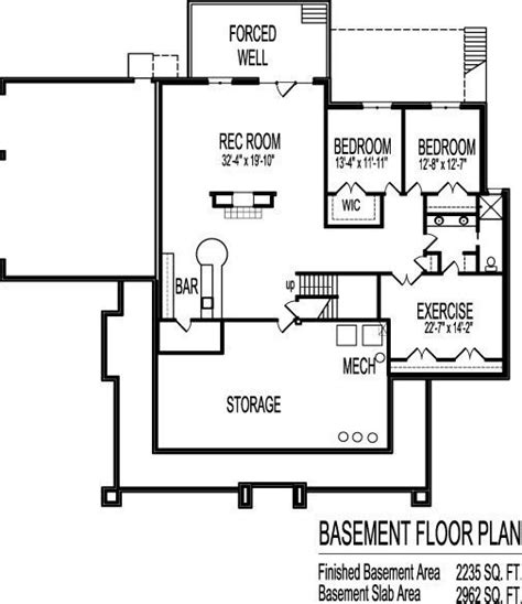 3 bedroom house plans with basement 3 bedroom with basement house plans inspirational 2