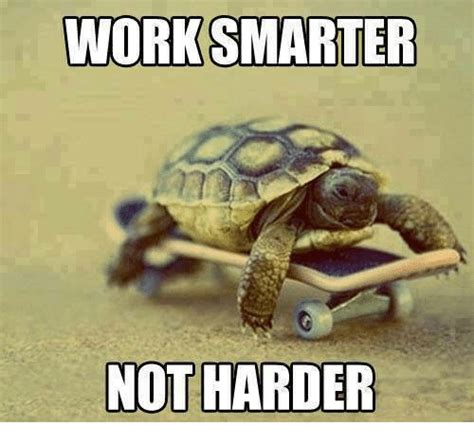 Not Working Meme - work smarter not harder meme on me me