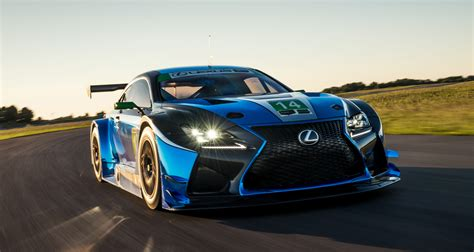 lexus rc modified lexus new rc f gt3 furious customs