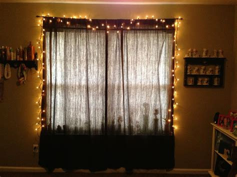 string lights in bedroom window light up my