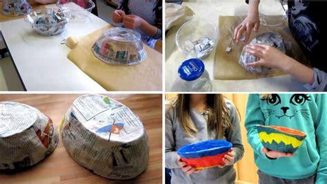was kann mit papier basteln grundschule gem 252 nden mit papier und kleister kann