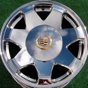 Chrome Cadillac Rims Oem Wheels Direct Cadillac Escalade Chrome Gold Center