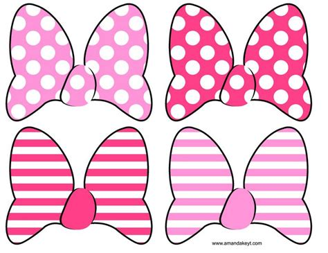 free printable minnie mouse bow template instant minnie mouse clubhouse inspired printable