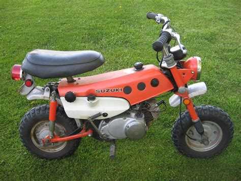 Suzuki Trailhopper by 1971 Suzuki Mt50 Trailhopper Collectors Weekly