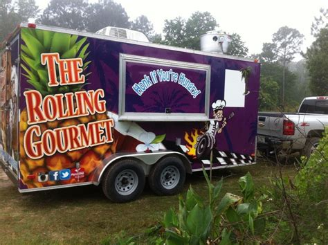 The Rolling Kitchen Food Truck Menu by The Rolling Gourmet Ta Food Trucks Roaming Hunger
