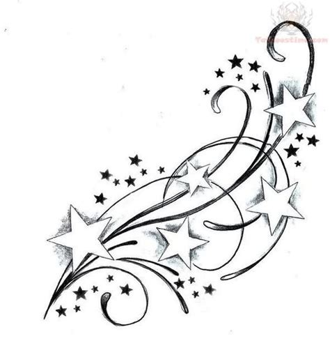 cute star tattoo designs feminine swirly tattoos designs tattoos