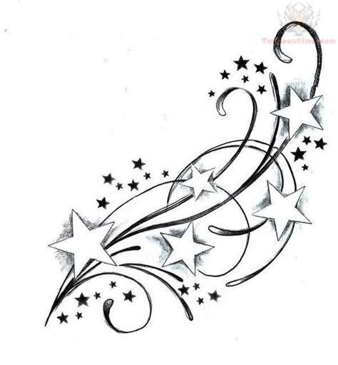 cute star tattoo designs feminine swirly tattoos designs tattoos