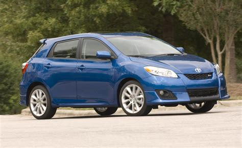 images of toyota matrix car and driver