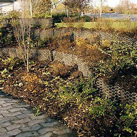 Garten Hangbefestigung Pflanzen by Pflanzkorb Hangbefestigung Stahl Pflanzen