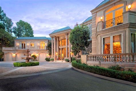 California Floor Plans by 21 Million Newly Listed French Mansion In Beverly Hills