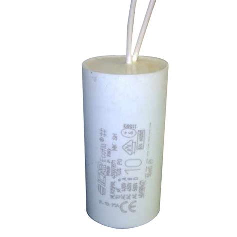 icar spa capacitor icar 10uf capacitor fly lead