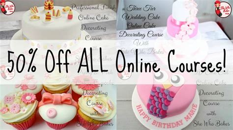 Cake Decorating Classes Near Me by 50 All Courses She Who Bakes