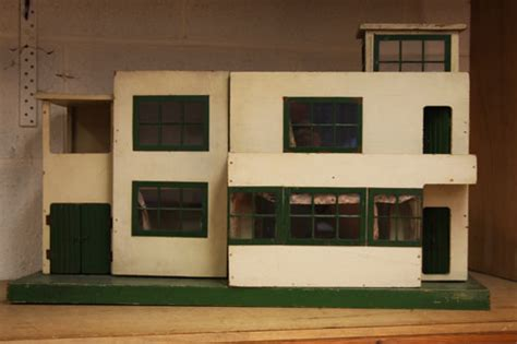 art deco dolls house furniture 1930s triangtois art deco dolls house up for auction at boldon auction galleries