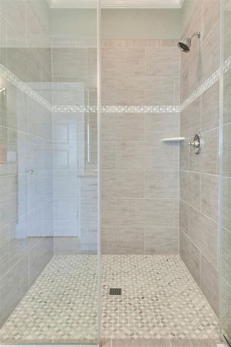 part tiled bathroom subway tile shower floor nyfarms apinfectologia