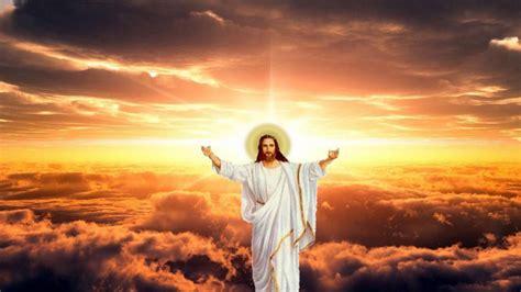 jesus christ  background  sunbeam  clouds hd