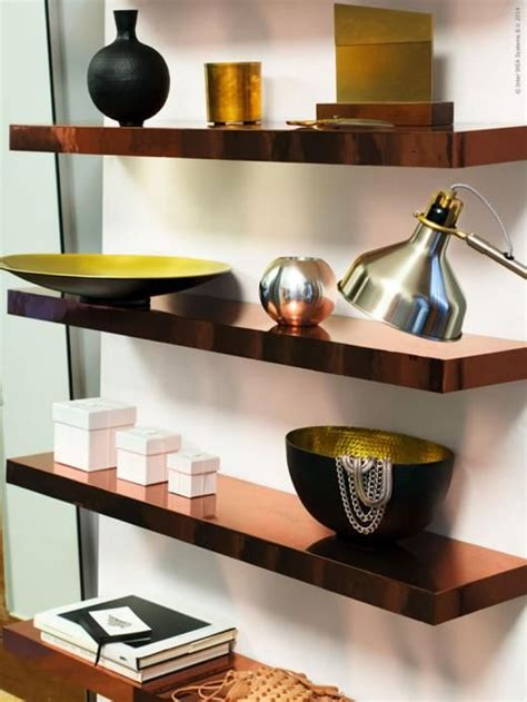 contact paper shelves lack wall shelf white beautiful copper and contact paper
